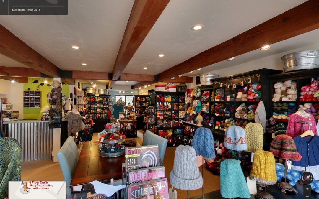 Bluebird Yarn and Fiber Crafts Sausalito