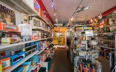 Dauth Hobbies – San Anselmo – Retail Photography