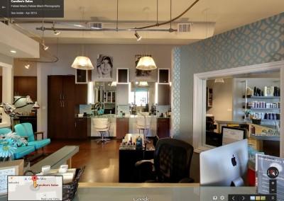 Hair Salon 360 virtual tour – Caroline's Salon Lafayette